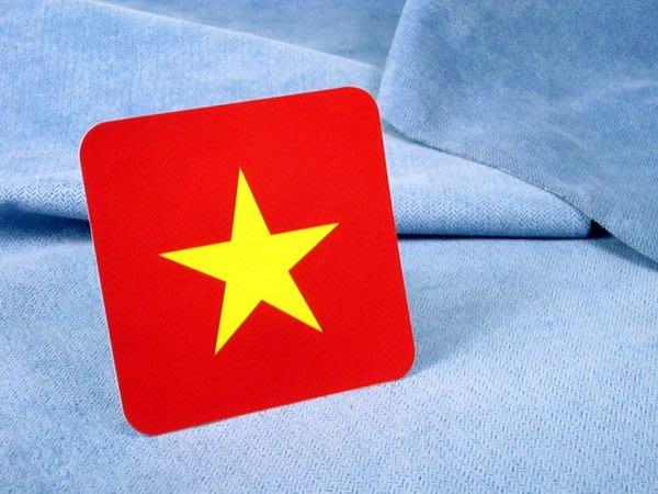 【衝浪小胖】越南方形旅行箱貼紙/抗UV防水/登機行李箱/世界多國可收集訂製