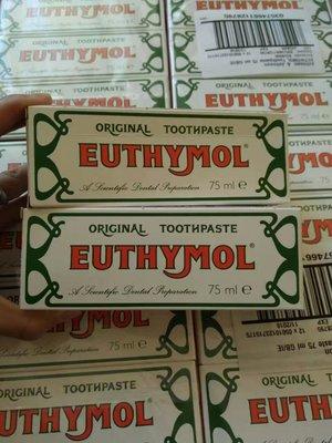全球10大牙膏品牌之一英國老牌 Euthymol牙膏75ML