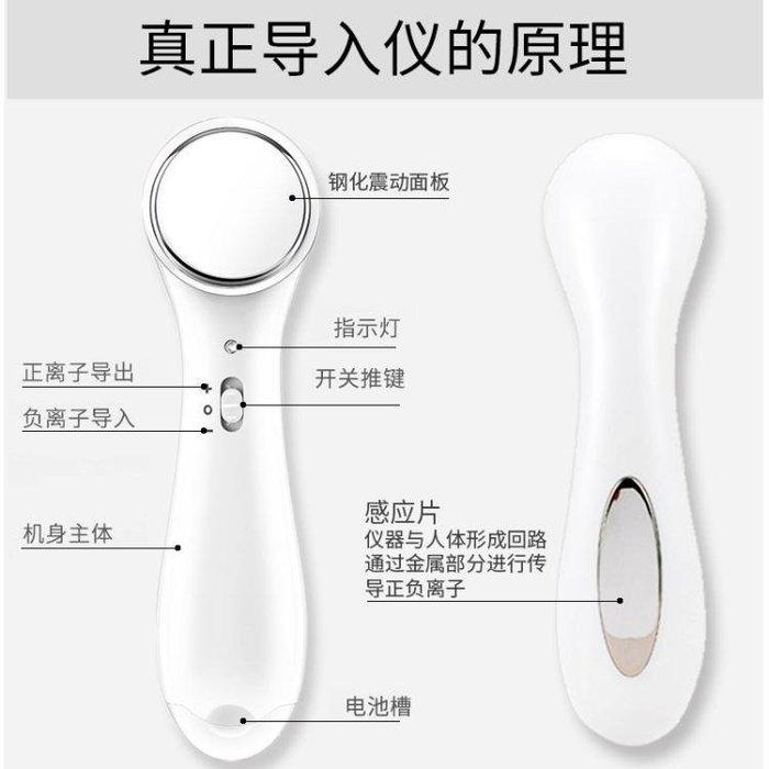 ☜男神閣☞導入儀精華美容儀器面部導出黑頭神器洗臉潔面儀家用臉部按摩器