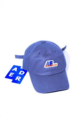 Ader Error Stone Logo cap. 棒球帽 扣子 logo 帽子