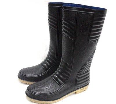 美迪-日日新-608-工作用-全長塑膠止滑雨鞋~ 台灣製-可當登山雨鞋-~