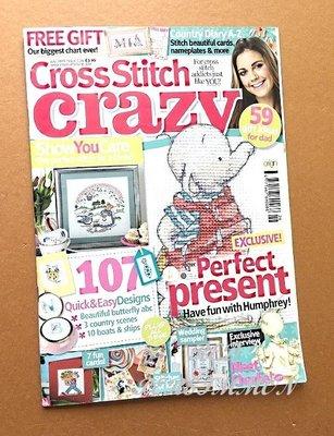 紅柿子【英文彩色版•Cross Stitch crazy 十字繡作品集 ISSUE 126】全新•特售50元•