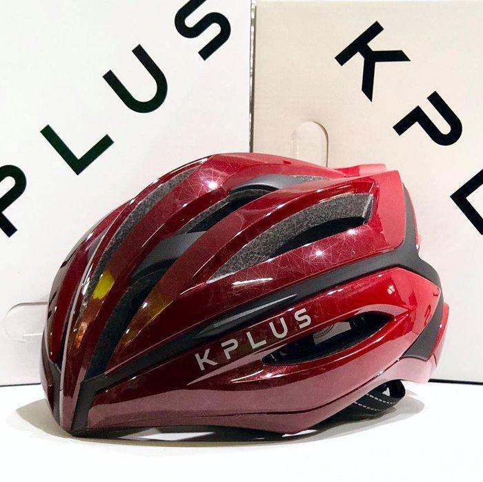 【皇小立】KPLUS SUREVO 公路競速安全帽 漸層紅 / KASK MONTON POC OGK GIRO