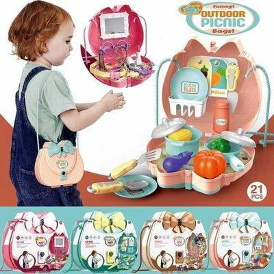 現貨 家家酒背包玩具箱 角色扮演遊戲 攜帶玩具