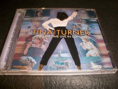 VCD--TINA TURNER/ONE LAST TIME LIVE IN CONCERT/2片裝,附側標
