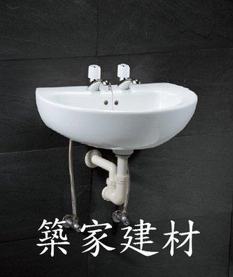 【AT磁磚店鋪】CAESAR 凱撒衛浴 L2150DH/B037C-D 面盆+雙立龍頭  房東最愛 套房好用 洗手台