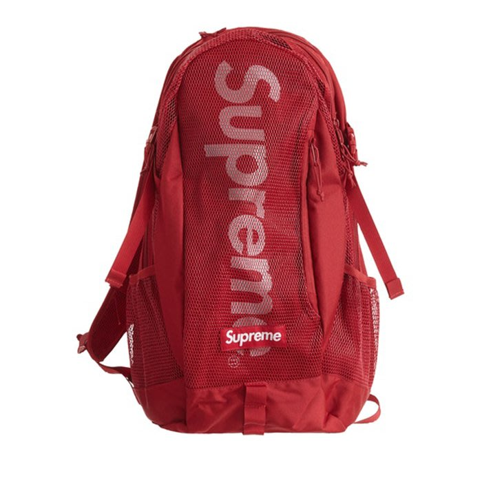 【QUEST】現貨 SUPREME SS20 48TH BACKPACK  網眼 後背包 紅