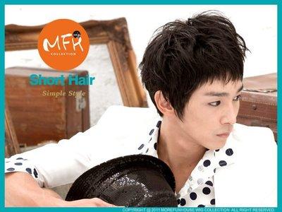 MFH韓系男生假髮  SHINee立體多層次【S007002】韓國髮型 男假髮 男生髮型 男造型 韓星
