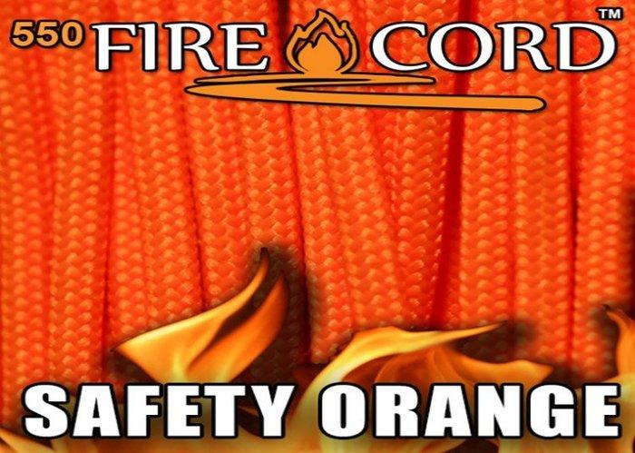 【angel 精品館 】FireCord 火種傘繩25呎/安全橘 FC-SAFETYORANGE25