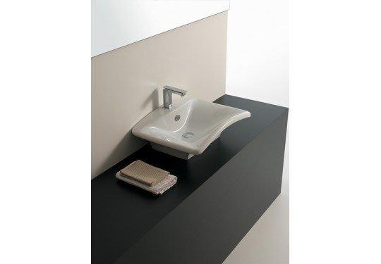 知名建商預售屋展示品出清-----義大利 Fuori Onda L460 長方形面盆