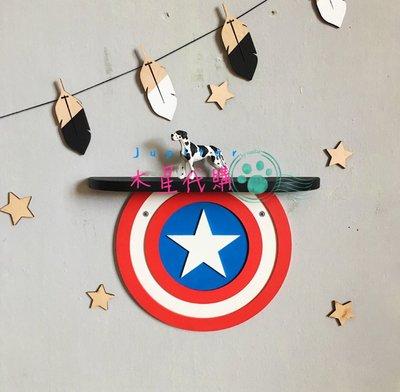 【木星代購】《美國代購 Marvel英雄造型 美國隊長 蜘蛛人 鋼鐵人 浩克 雷神索爾 死侍 置物架 六款可選 預購》