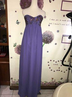 TED BAKER 紫色長版洋裝(16)