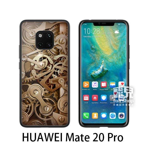 【飛兒】NILLKIN HUAWEI Mate 20 Pro 金芯玻璃手機殼 鋼化玻璃 鏡面效果 (K)