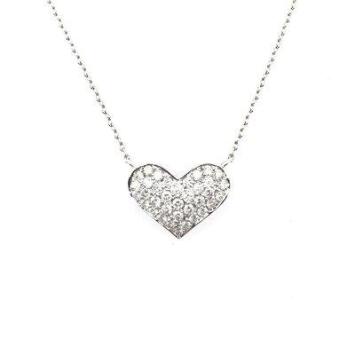 【JHT金宏總珠寶/GIA鑽石專賣】天然鑽石項鍊/材質:18K(JB46-A40)