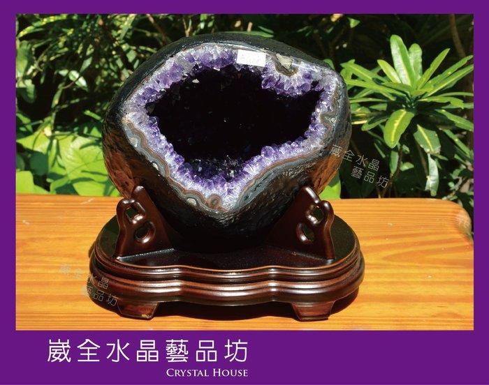 【崴全水晶】頂級 🌟紫爆🌟 天然 烏拉圭 紫晶洞 5.3 kg ※ 風水石 鎮宅 招財
