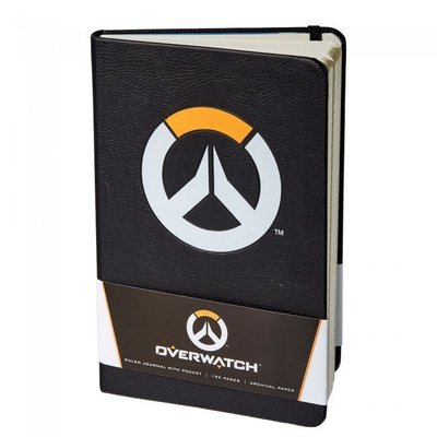 【丹】暴雪商城_Overwatch Journal (Hardcover) 鬥陣特攻 日記本
