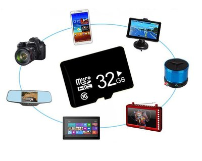 32GB TF micro SD,SDHC 極速版C10 手機 行車紀錄器 收音機 32G記憶卡 micro SD Cl