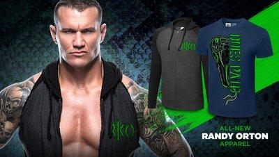[美國瘋潮]正版 WWE Randy Orton Dues Paid T-Shirt 狙擊代價最新款RKO毒蛇衣服熱賣