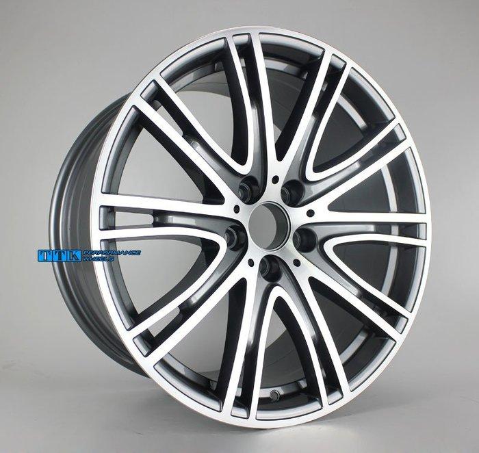 【員林 小茵 輪胎舘】類BMW 2018年 原廠鋁圈式樣 19吋 5孔120 前後配 F:8.5J R:9.5J 灰車面