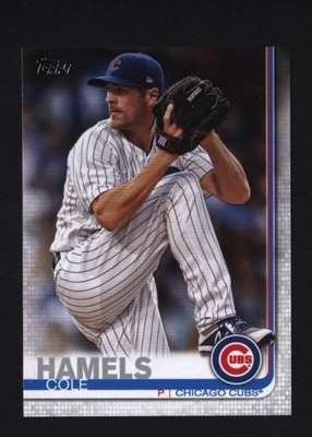 2019 Topps Series 2 #540 Cole Hamels - Chicago Cubs