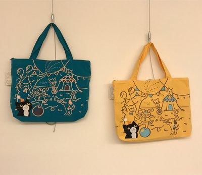 日本卡拉貓~貓咪樂園防水側背包 手提包...