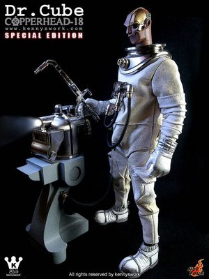 Hottoys Dr Cube Copper Head 全新未開封