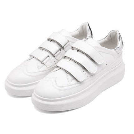 =WHITY=韓國FUPA品牌 韓國製  高級軟皮運動牛津鞋厚底設計百搭 大牌推薦   S6CD550