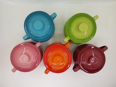 Le Creuset瓷器小湯汁壺 500ml 加勒比海藍/棕櫚綠/薔薇粉/火焰橘/樹苺 特價580元