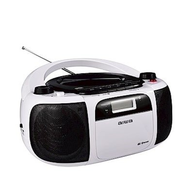 AIWA 愛華公司貨 CR-BUE40  -BUE30藍芽手提音響 USB/SD卡/AUX/CD/藍芽播放 可錄音