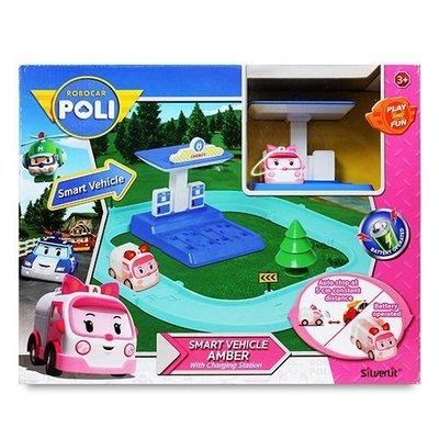 POLI波力 安寶電動車與充電站遊戲 +波力電動車*1