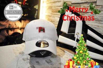 特價 New Era Branded Xmas Stamp 9Twenty White 聖誕節郵戳白色920老帽軟式
