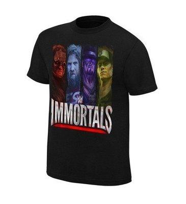 ☆阿Su倉庫☆WWE摔角 Immortals Beyond The Ring T-Shirt 手遊最新款 熱賣特價中