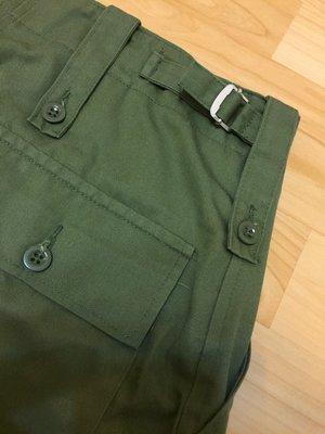 GB British ARMY 英國陸軍 OD 輕磅軍綠長褲 OG-107