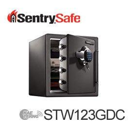 【皓翔居家安全館】Sentry Safe 電子密碼鎖防火防水金庫(中) STW123GDC