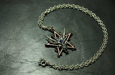 ALCHEMY Necklace 英國品牌手工飾品,金屬銀錫合金飾品 No. P434 Furnace of Me 項鍊