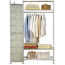 DP-61-13WP4+D型90公分衣櫥架 (無防塵)