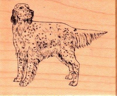 陽光一品DIY卡片印章專賣店~~PSX木頭印章--狗~~#F388#~~美國製絕版品