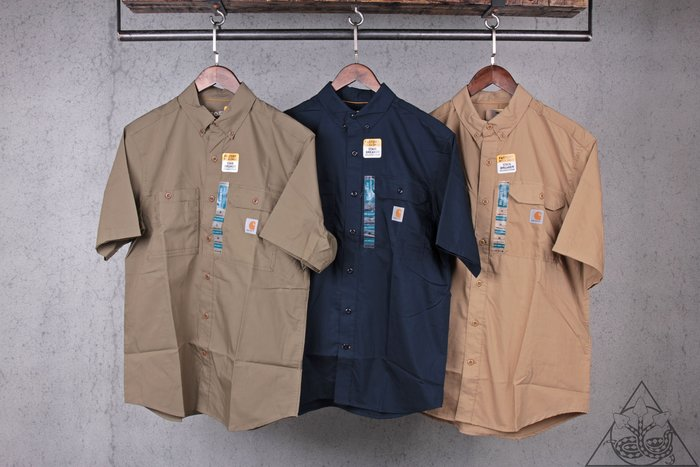 【HYDRA】Carhartt Ridgefield Short Shirt 工作 襯衫【102417】