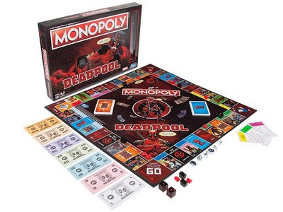 Deadpool Monopoly /死侍大富翁 /地產大亨死侍版/ Board game