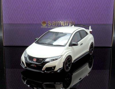 【M.A.S.H】現貨瘋狂價 Kyosho 1/18 Honda Civic Type R  white