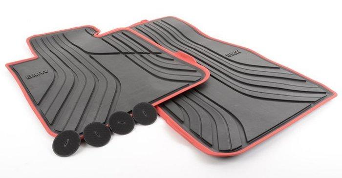 【樂駒】BMW F22 F87  原廠 Sport Line 全天候 腳踏墊 原廠 車用 套件 內裝 精品 橡膠 防水