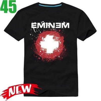 Eminem【阿姆】短袖嘻哈饒舌(HIP-HOP RAP)歌手T恤(共2種顏色可供選購) 購買多件多優惠!【賣場二】