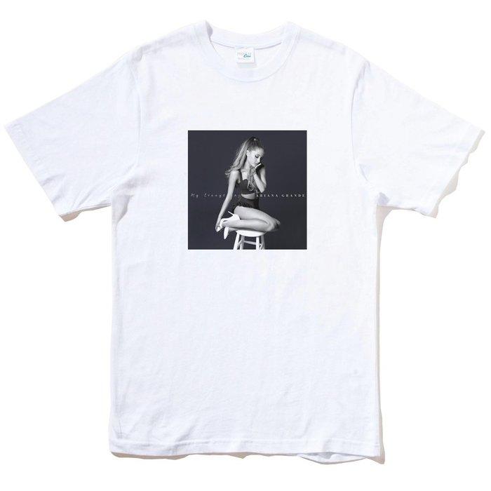 Ariana Grande My Everything 短袖T恤 白色 亞莉安娜 美國進口 t shirt