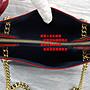 ☆優買二手名牌店☆ LV M43750 SURÈNE BB 紅色 海軍藍 壓紋 全皮 金鍊 肩背包 斜背包 兩用包 全新