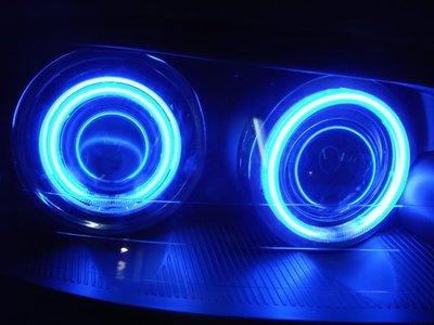 小亞車燈╠ 全新高質感TIERRA LS RS SE XT藍光圈魚眼大燈