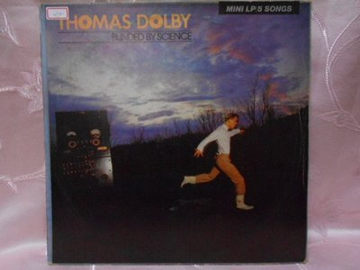 【采葳音樂網】-西洋黑膠–THOMAS DOLBY〝BLINDED BY SCIENCE 〞212