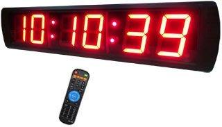 6位數 正數倒數 計時器 定時器 直播計時器 壁掛式或懸吊式 烹飪考試、術科考試、會議提醒 (CK-8R6)