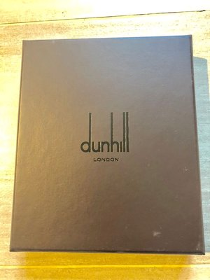 100%新 絕對 真品【Dunhill】London原裝銀包錢包紙盒 wallet paper box LV prada Agnes