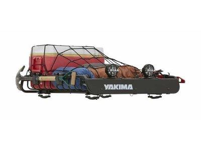 台中【阿勇的店】車頂行李箱 YAKIMA 置物籃+送固定網 行李盤 LOADWARRIOR 特殊C型夾具可夾住各種車頂架