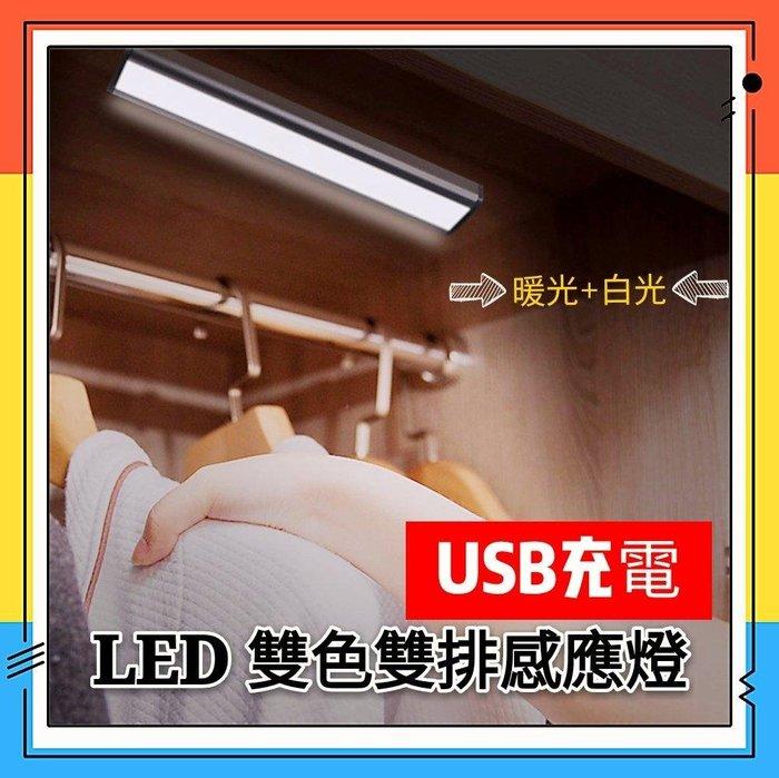 預購 雙排衣櫃燈 薄款 ZOLED 櫥櫃燈 usb充電 人體紅外 感應燈 臥室玄關小夜燈  哺乳燈